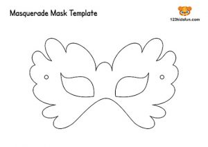 Masquerade Mask Templates to Print