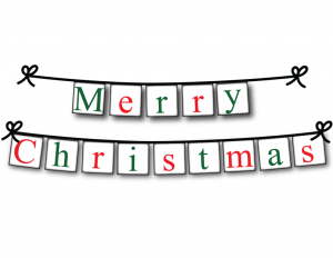 Merry Christmas Banner Printable Picture