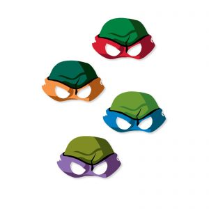 Teenage Mutant Ninja Turtles Eye Mask Template