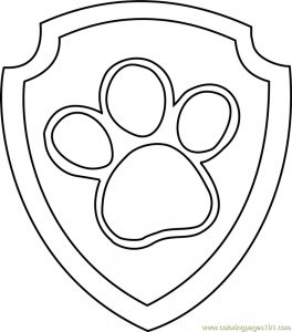 Paw Patrol Badge Template Picture