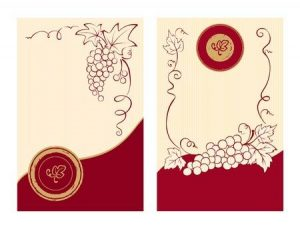 Red Wine Label Template