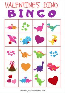 Valentine's Day Bingo Printable Preschool