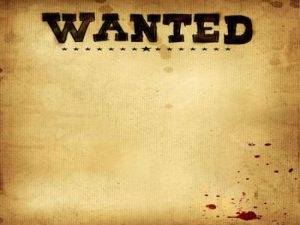 Wanted Poster Design Template