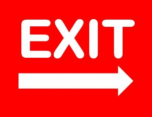Exit Sign Printable Free