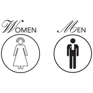 Printable Bathroom Signs for Office