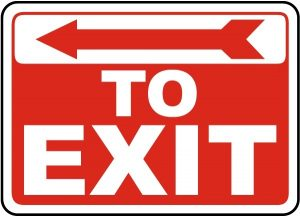 Printable Exit Signs