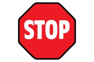 Printable Picture Stop Sign