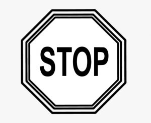 Printable Picture of a Stop Sign