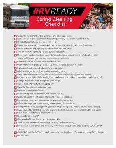 RV Spring Cleaning Checklist