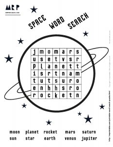Simple Space Word Search