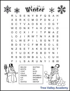 Third Grade Word Search Worksheets