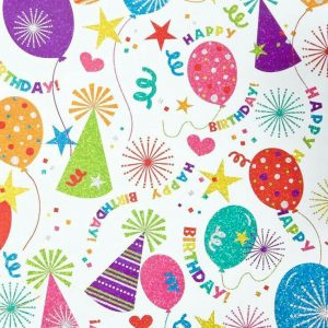 Birthday Printable Wrapping Paper