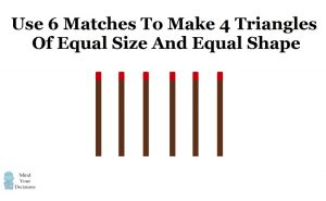 Brain Teaser Toothpick Puzzles
