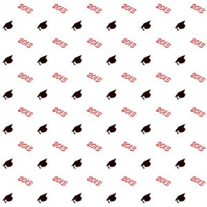 Graduation Wrapping Paper Printable