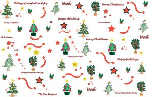 Merry Christmas Wrapping Paper Printable