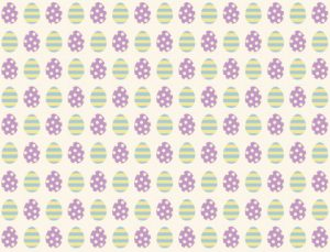 Printable Easter Wrapping Paper