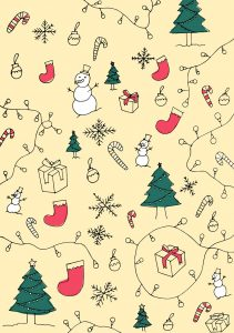 Printable Holiday Wrapping Paper