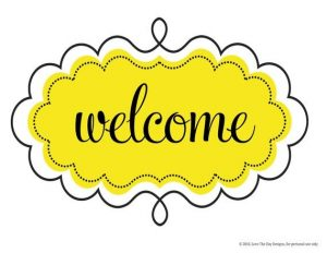 Printable Welcome Sign Template