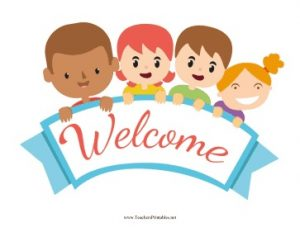 Printable Welcome Signs for School