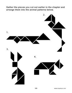 Tangram Shapes Printable
