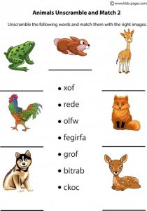 Unscramble Animal Image