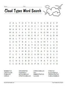 Word Search Clouds